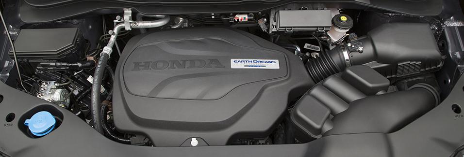 2016 Honda Pilot engine
