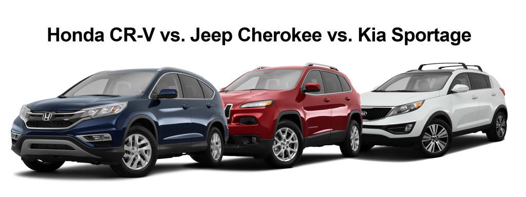 CRV Cherokee Sportage