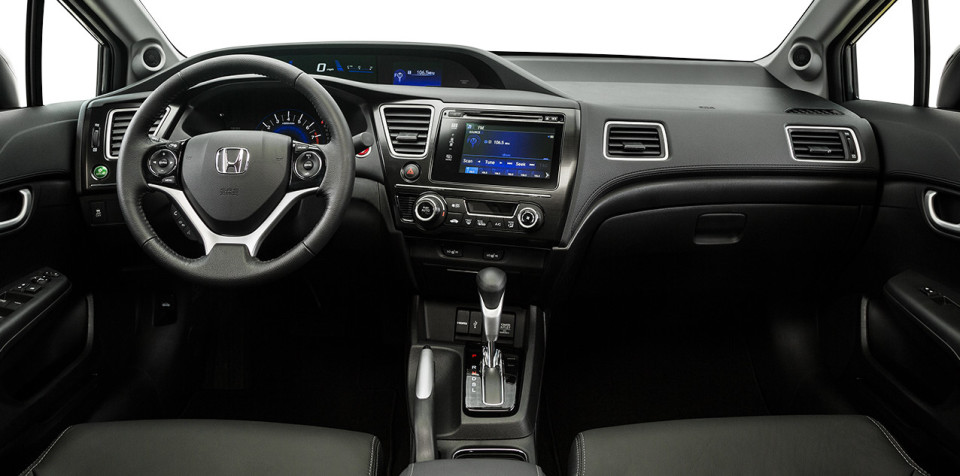 2015 Honda Civic Dash