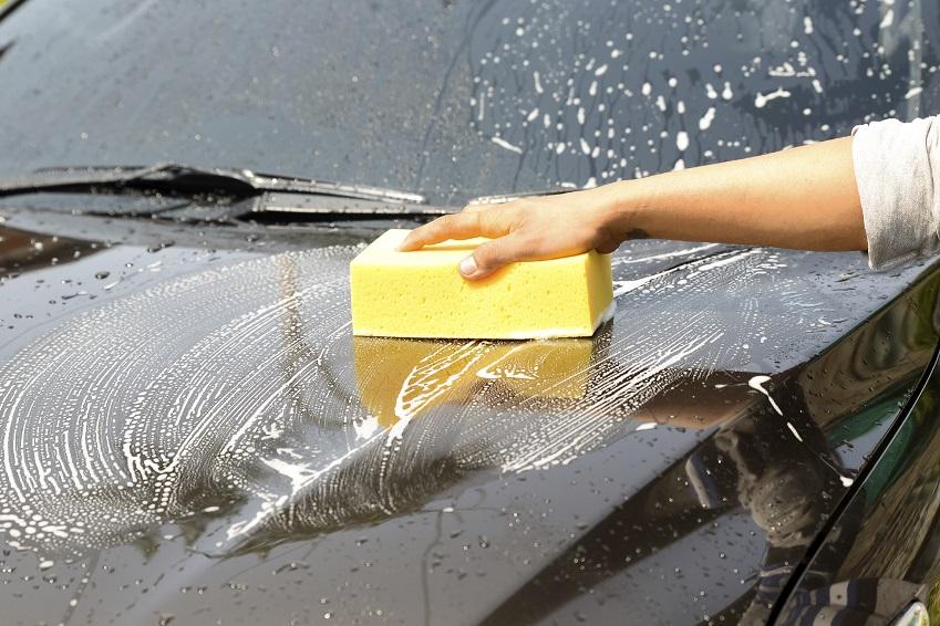 washing off pollen North Carolina