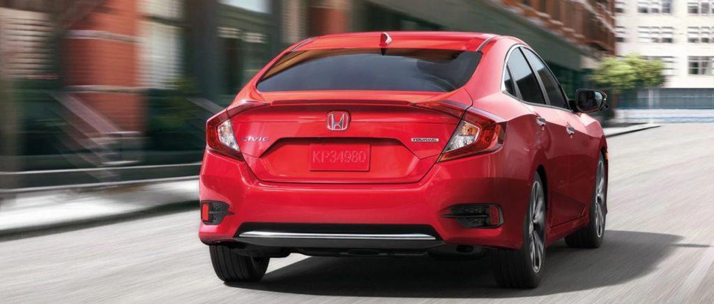 Shot of Honda Civic rear