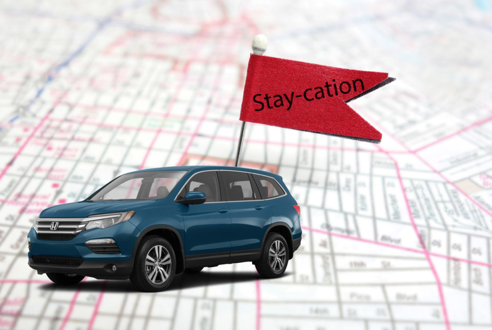 Honda Pilot Staycation Greenville