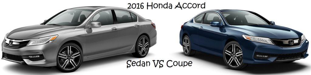 2016 Honda Accord Coupe vs Sedan Greenville