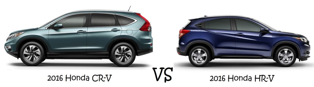 2016 Honda CR-V vs 2016 Honda HR-V Greenville