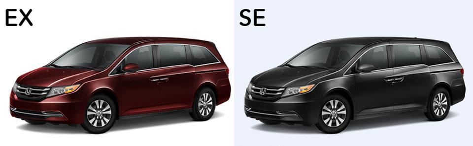 2016 Odyssey EX and SE