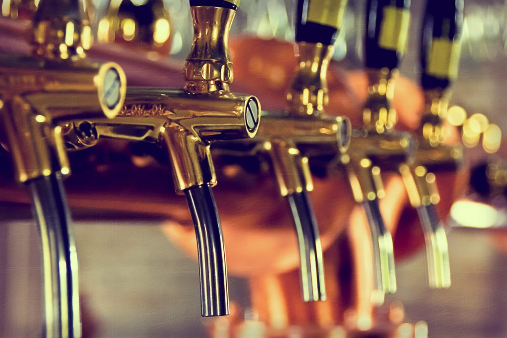 Breweries and wine shops