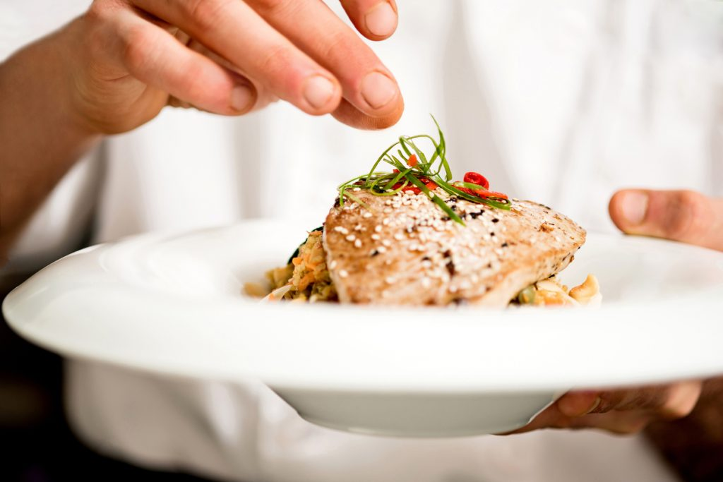 Tuna appetizer is ready to serve at Greenville restaurants