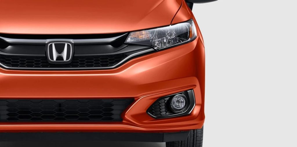 Honda Fit front grille